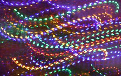 Fuldend mandehulen med LED strips